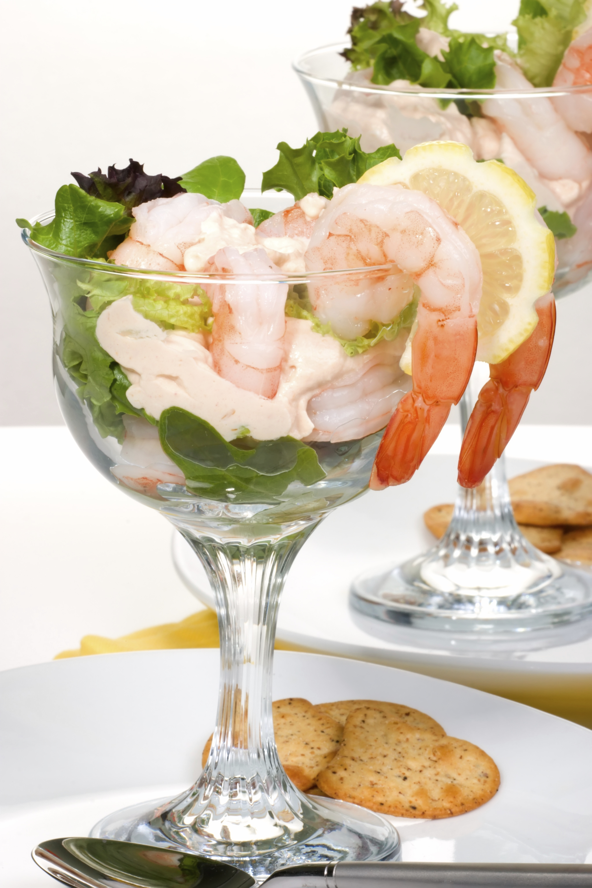 Colossal Shrimp with Tequila Lime Dipping Sauce Image
