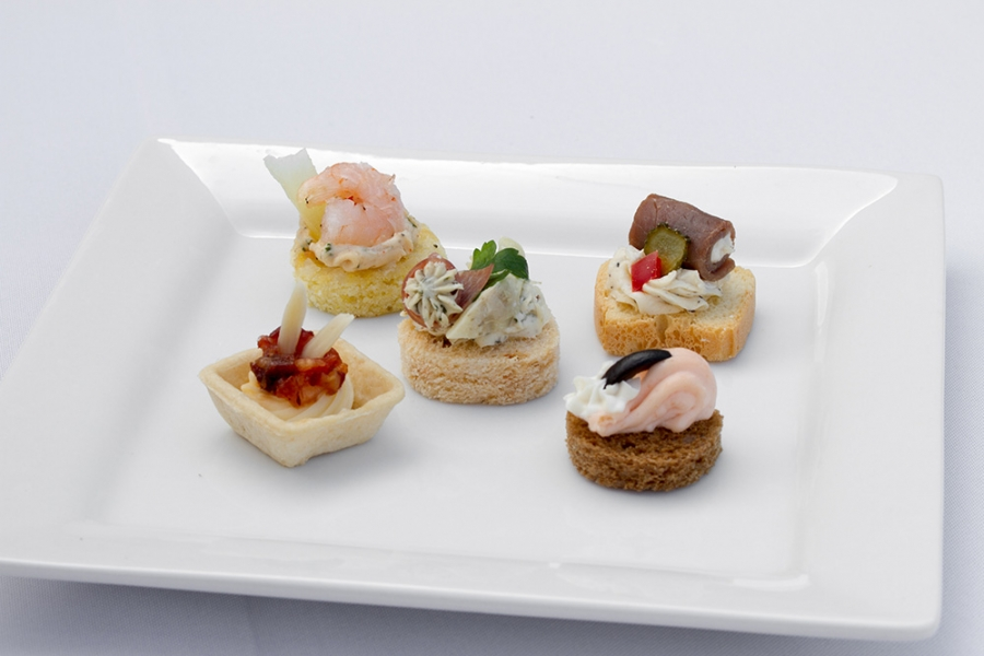 Cold Canape Assortment Image