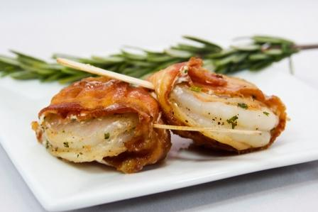Casino Shrimp Wrapped in Bacon Image