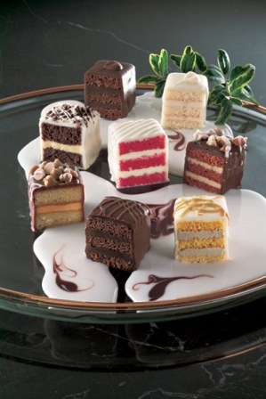 Chocolate Lovers Petit Fours Image