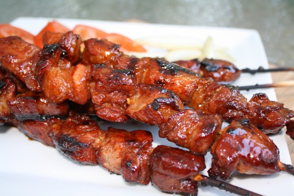 Pangea Catering Skewered Filipino Pork BBQ