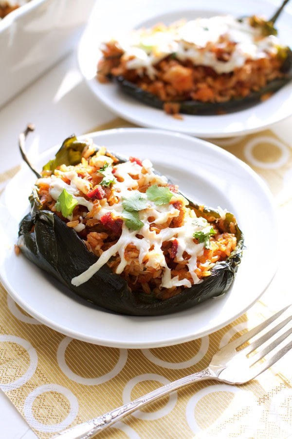Pangea Catering Chorizo & Shrimp Stuffed Poblano